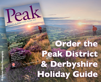 Order the Peak District & Derbyshire Holiday Guide