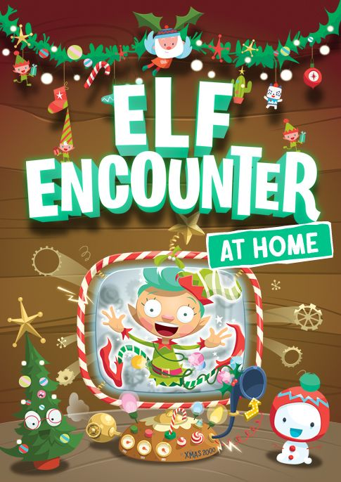 Elf Encounter At Home