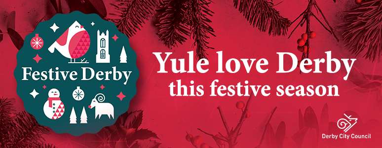 Festive Derby artwork - Yule Love Derby
