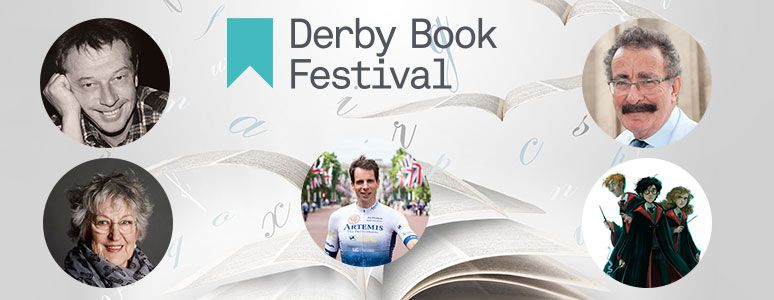 Derby Book Festival, Andy Kershaw, Germaine Greer, Mark Beaumont, Robert Winston and Harry Potter characters