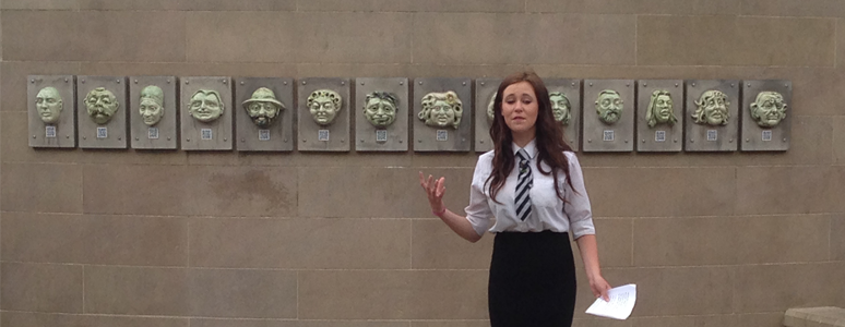 Speakers Corner - the 2015 Public Speaking Competition