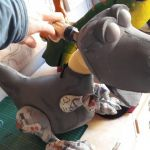 Blog 3 - The Dinosaur puppet making process