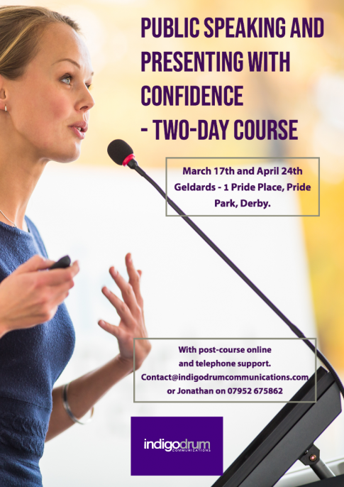 Public Speaking and Presenting with Confidence Course
