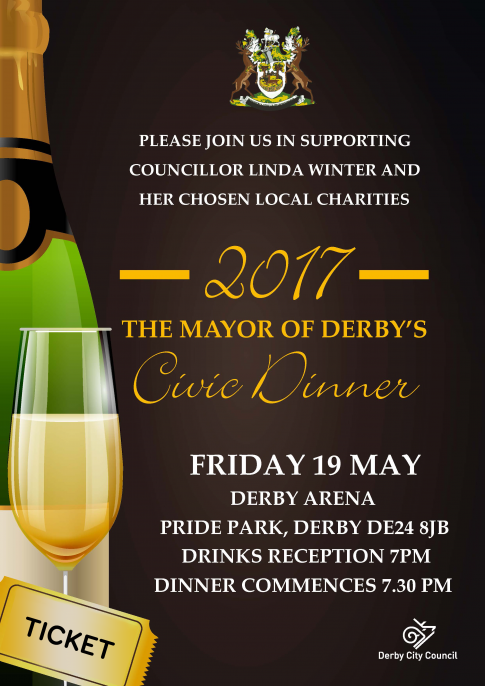 The Mayor of Derby's Civic Dinner
