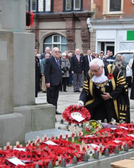 Derby Remembrance Sunday Parade and Service