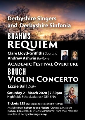 Image for Brahms Requiem & Bruch Violin Concerto