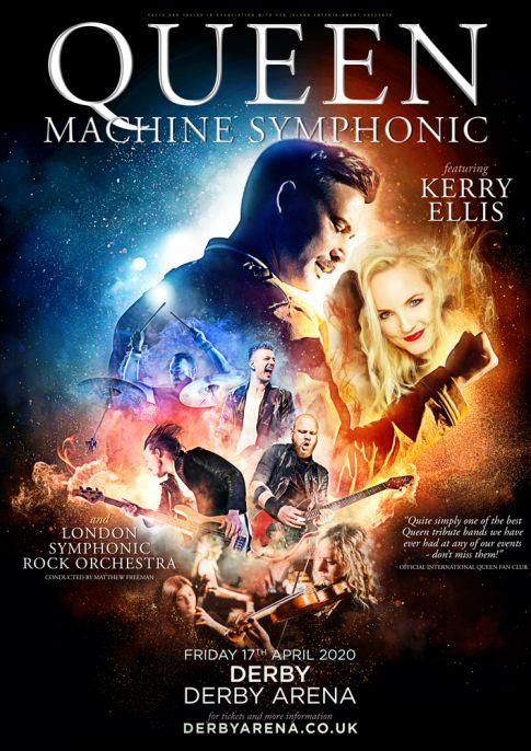 Queen Machine Symphonic | Derby Live