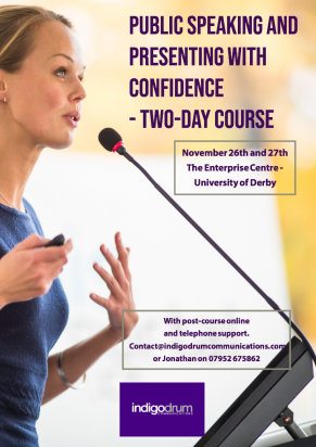 Image for Public Speaking and Presenting with Confidence Course