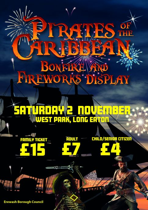 Bonfire and Fireworks Display