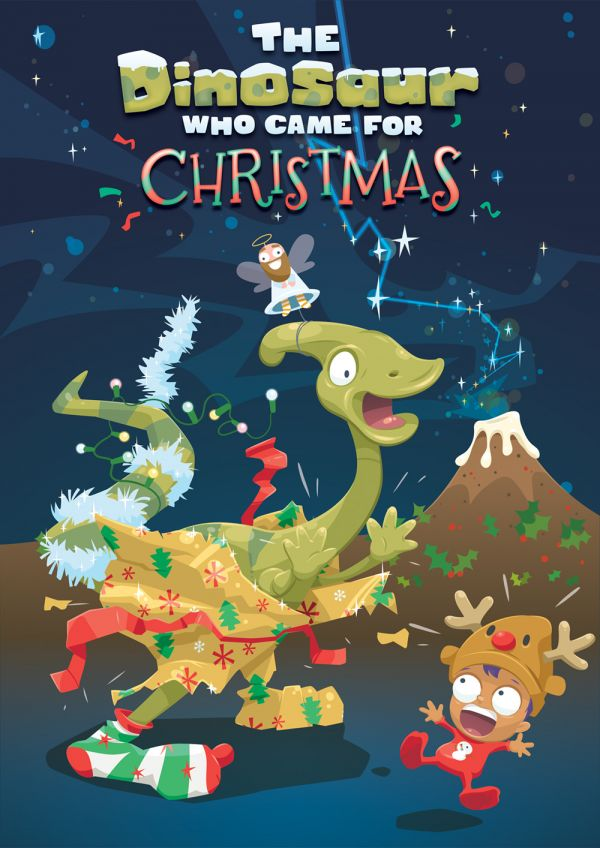 The Dinosaur who came for Christmas