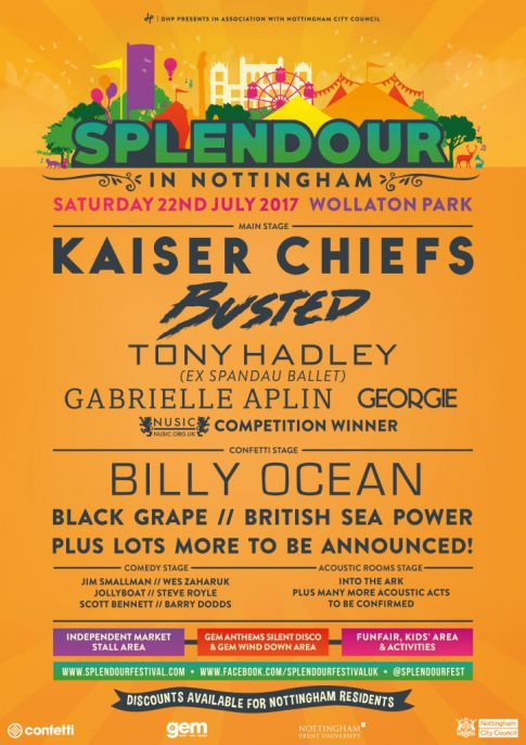 Splendour In Nottingham 2017