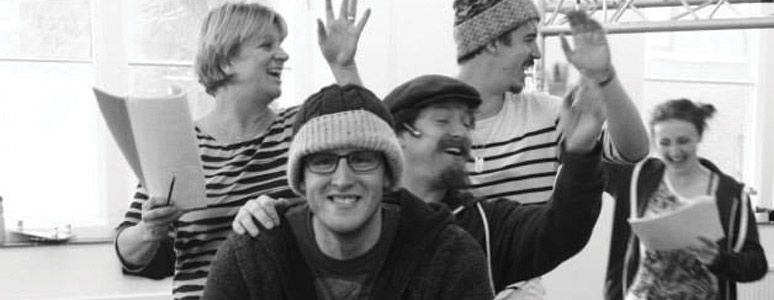 Wind in the Willows rehearsal photo